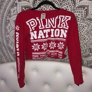 Pink Christmas edition shirt!